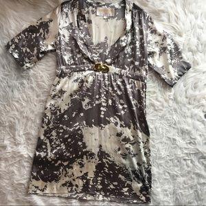 Lauren Moffatt silk tunic / swim cover up